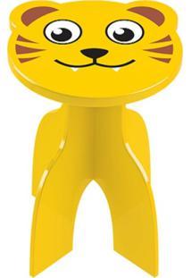 Banquinho Junges Tiger Amarelo