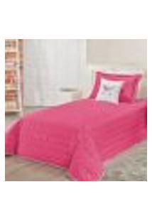 Cobre Leito Unicórnio Pink Solteiro 05 Peças