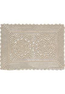 Jogo Americano Em Crochet Retangular Maragogi