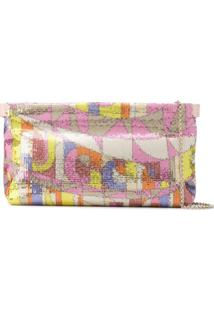 Emilio Pucci Clutch Sirens Song - Rosa