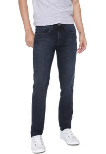Calça Jeans Aramis Slim Milão Azul