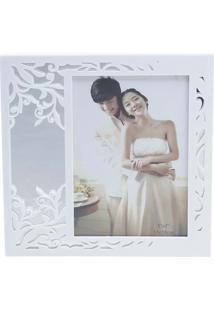 Porta Retrato Leaf 13X18 - Prestige - Branco