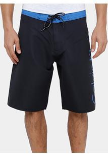 Bermuda D'Água Calvin Klein Ck Masculina - Masculino-Preto