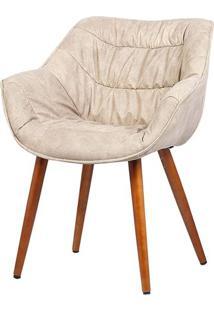 Cadeira Com Braco Bumpee Vintage Caqui - 37954 - Sun House