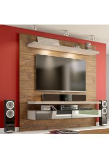 Painel Para Tv 180 Nobre/Fendi Com Espelho Tb107E - Dalla Costa