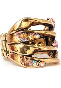 Anel Santa Feminice Celina Ouro Vintage