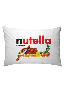Fronha Para Travesseiros Nerderia E Lojaria Nutella Colorido
