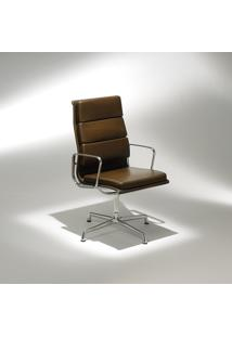 Cadeira Com Braços Ea211 Soft Alumínio Studio Mais Design By Charles E Ray Eames