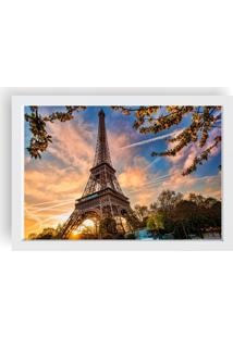 Quadro Love Decor Decorativo Com Moldura Paris Branco