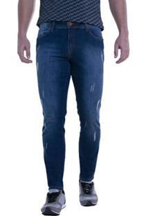Calça Jeans Eventual Skinny Masculina - Masculino