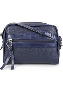 Bolsa Anacapri Mini Bag Eco Ravena Calf Feminina - Feminino-Marinho