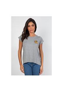 T-Shirt Myah Lion Cinza