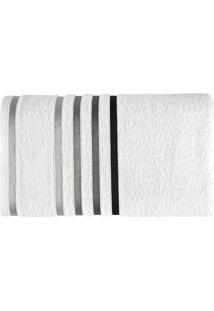 Toalha De Banho Lumina L Branca E Preta
