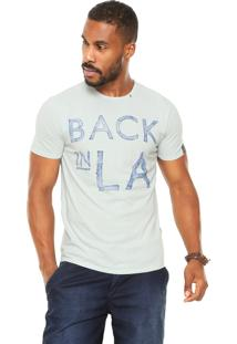 Camiseta Replay Back In La Verde