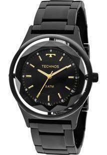 Relógio Technos Elegance Feminino 2035Mib4P Preto - Kanui