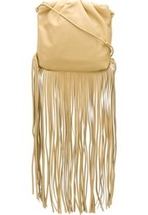 Bottega Veneta Bolsa The Fringe Pouch - Neutro