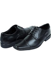 Sapato Social Masculino De Couro Preto Upper - 38