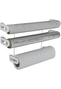 Suporte Metaltru Para Rolos - Suporte Para Papel Toalha, Papel Alumínio