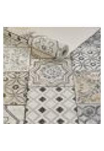 Papel De Parede Importado Lavavel Textura Azulejo Portugues