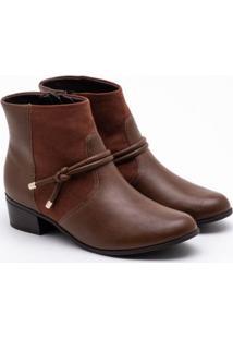 Ankle Boot Comfortflex Cravo 34