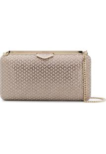 Jimmy Choo Clutch Ellipse - Neutro