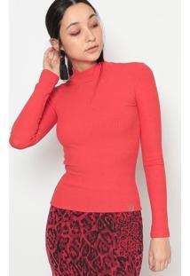 Blusa Canelada- Vermelha- Miss E Missesmiss & Misses