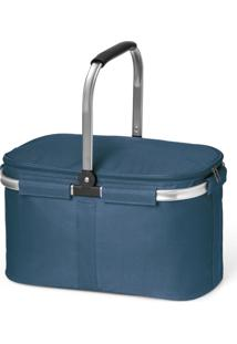 Bolsa Térmica Flexível Lux Topget Azul - Tricae