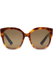 8bff14cfe0ba7 Óculos De Sol Gucci Vermelho feminino   Shoelover