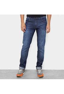 Calça Jeans Slim Coca-Cola Masculina - Masculino