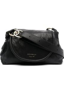Emporio Armani Flap Shoulder Bag - Preto