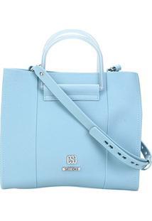 Bolsa Sweetchic Tote Cairo Feminina - Feminino-Azul Claro