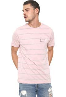 Camiseta Billabong Border Rosa