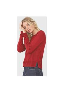Blusa Tricot Hering Lisa Vinho