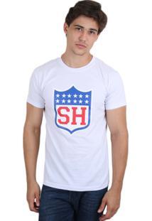 Camiseta Skill Head Nfl - Masculino-Branco