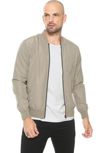 Jaqueta Bomber Jack & Jones Lisa Cinza