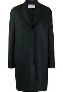 Harrys Of London Oversized Single-Breasted Coat - Cinza