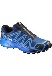 Tênis Speedcross 4 Cs Masculino 39 Azul/Preto - Salomon