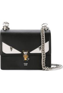 28355226e ... Fendi Bolsa Tiracolo Mini 'Bag Bugs' - Preto