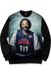 Blusa Bsc Snoop Usa Full Print - Masculino