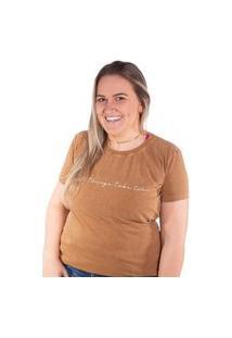 Camiseta Birdz Estampada Bronze