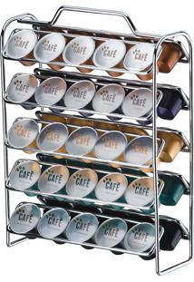 Organizador De Cápsulas De Nespresso 1147-Future - Cromado
