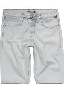 Bermuda Jeans Masculina Tradicional Jeans Delave