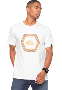 Camiseta Quiksilver Sounds Branca