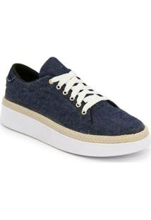 Sapatênis Tênis Casual Ec Shoes Feminino - Feminino-Azul