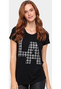 Camiseta Facinelli Estampa La Feminina - Feminino