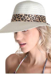 Chapéu Clássico Com Laço - Branco - Líquido