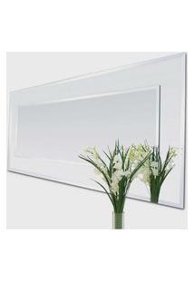 Espelho Versati 107X55 Borda Espelho Prata Vidrotec