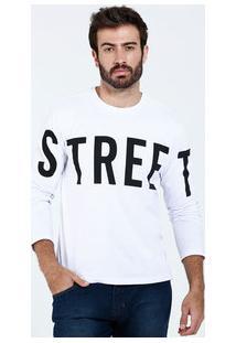 Camiseta Masculina Manga Longa Street Marisa
