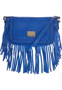 Bolsa Isabella Piu Franjas Azul