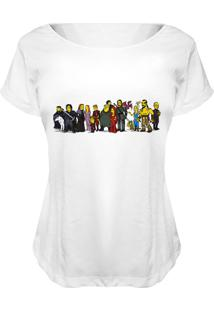 Blusa Nerderia Got Simpsons Branco - Kanui